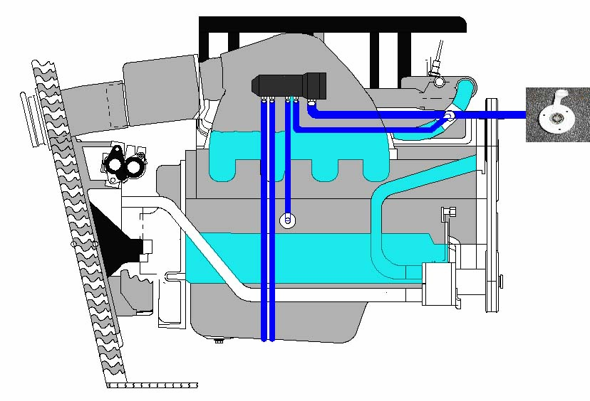 Gas Inboard and Sterndrive Marine Engine Flushing Systems that – Diagram Of Inboard Boat Engine